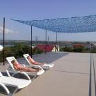 Смотровая крыша гостиницы