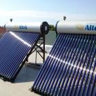 Солнечные батареи горячей воды
